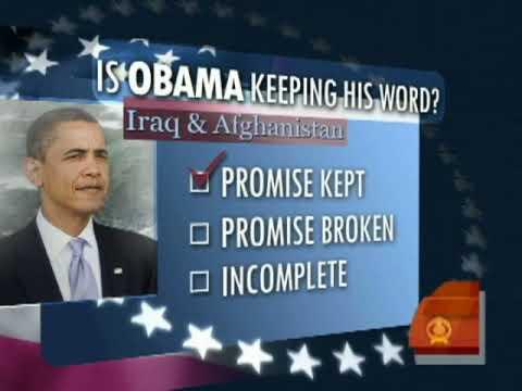 President Obama's Promises