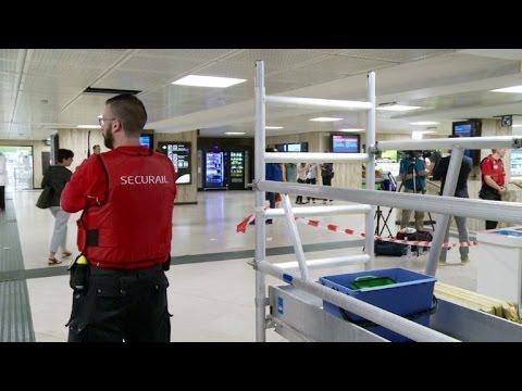 Bélgica identifica a sospechoso de ataque en estación de trenes
