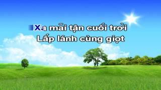 Vệt Nắng Cuối Trời - Minh Vương Karaoke HD
