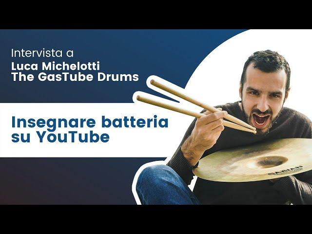 Intervista a Luca Michelotti (The Gas Tube Drums) - Parte 1