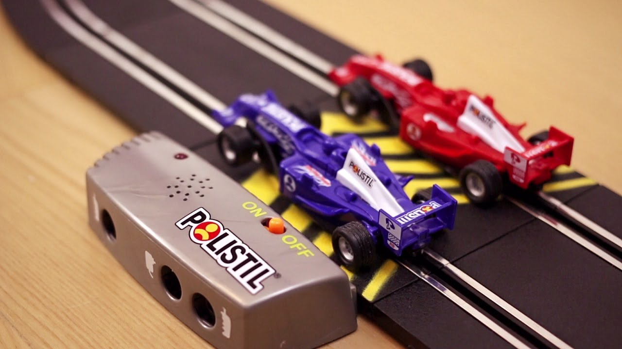 Pista Polistil Delle Macchinine Formula Gran Prix Youtube