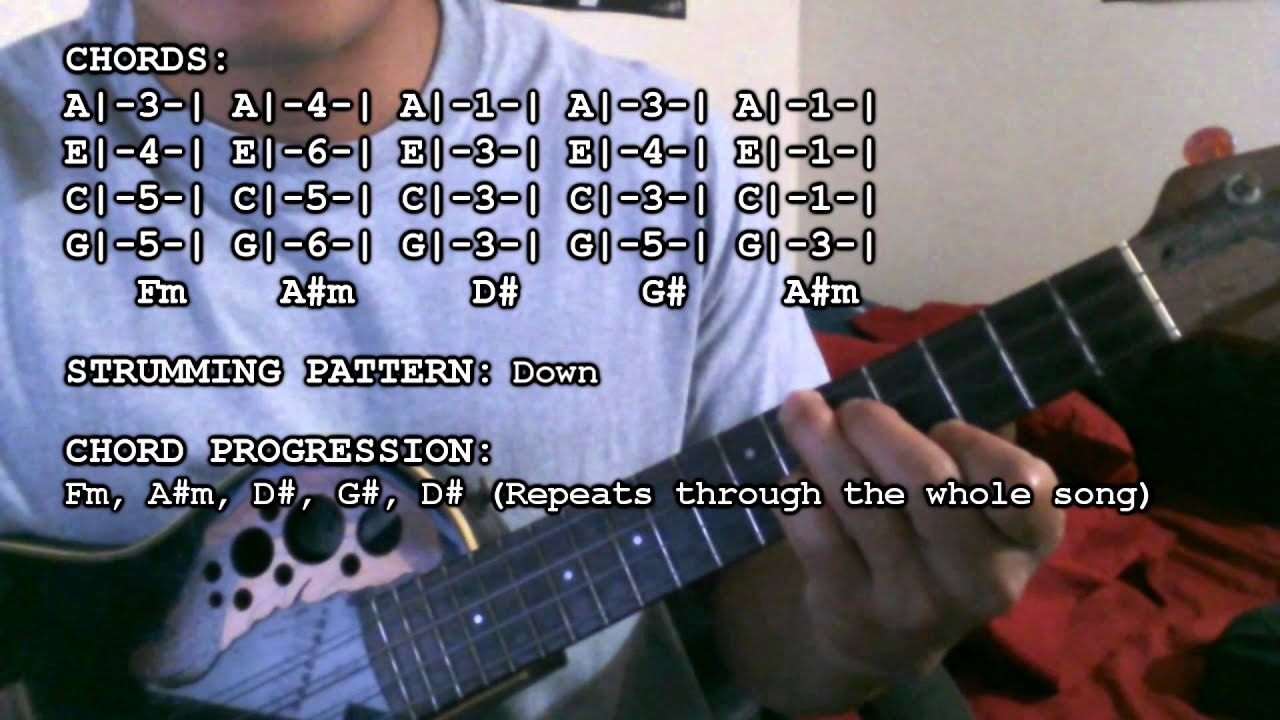 Beyonc drunk in love ft jay z chords tutorial ukulele jay z chords tutorial ukulele hexwebz Images