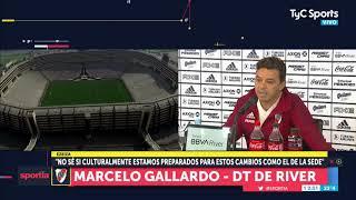 Gallardo y su opinión sobre el cambio de sede a Lima
