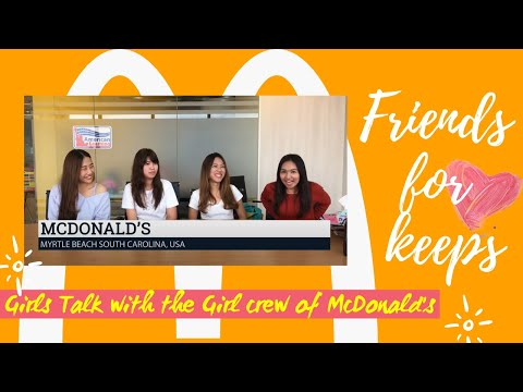 ALC Work and Travel in USA | McDonald's Myrtle Beach, South Carolina