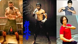Triple threat kung fu! | tony jaa, iko uwais ☯ tiger chen vs scott adkins & michael jai white!ᴴᴰ