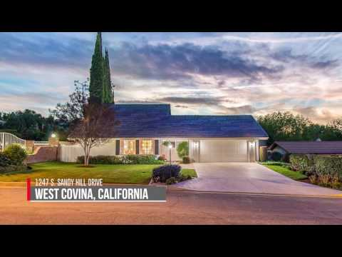 Meticulously Maintained Estate in Prestigious South Hills: 1247 S. Sandy Hill Drive, West Covina
