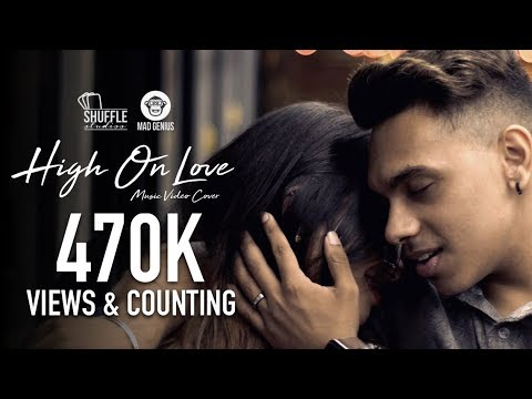 High On Love - Tamil Music Video Cover | 4K |  Pyaar Prema Kaadhal