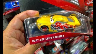 NEW Cars 3 Toys Hunt GUESS THIS CAR? We FINALLY FOUND Cars 3 Case L & NEW Hot Wheels MineCraft Cars