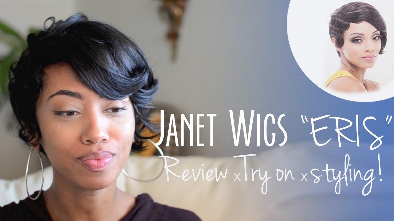 Janet Wigs Eris: Short Hair Wig Review