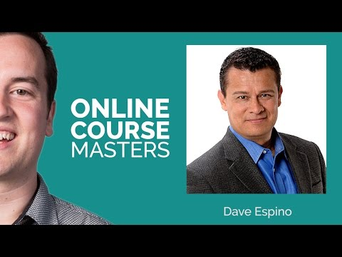Create an Online Course Machine with Dave Espino | OCM 12