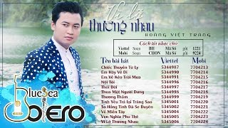 Album Vì lỡ thương nhau - Hoàng Việt Trang