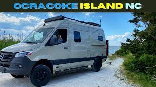 Well that blows…. Ocracoke Island in a Winnebago Revel | Maggie's Birthday!