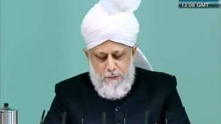 Urdu Friday Sermon 4 November 2011, Blessings of Financial Sacrifice by Ahmadiyya Muslim_clip2.flv