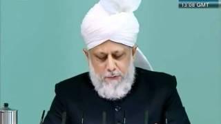 Urdu Friday Sermon 4 November 2011, Blessings of Financial Sacrifice by Ahmadiyya Muslim_clip2.flv