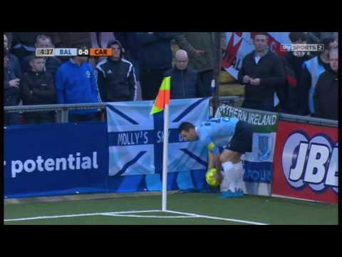 Ballymena United vs Carrick Rangers (Northern Ireland League Cup Final 2017)