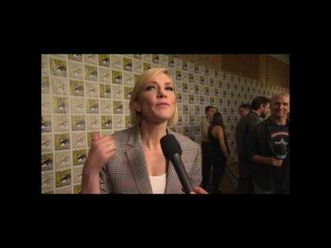 Thor: Ragnarok - Cate Blanchett Interview At San Diego Comic Con Hall H Reaction #SDCC