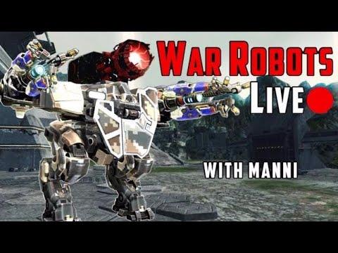 War Robots Live-Stream Export - 4 Brutal Hours Of Fun