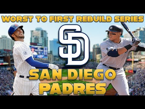 MLB The Show 17 Rebuild | San Diego Padres | STACKED LINEUP!