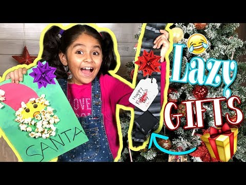 Lazy Last Minute Gifts - Commercial Parody - Comedy Christmas Gift Guide 2017 // GEM Sisters