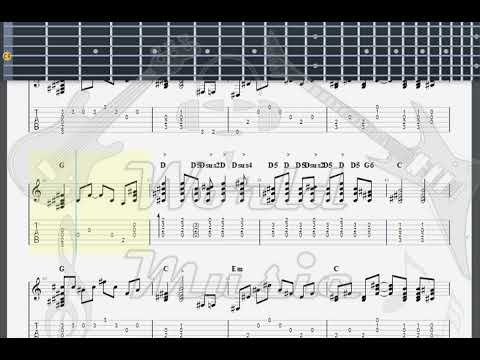 Guns N' Roses   Patience GUITAR 1 TAB