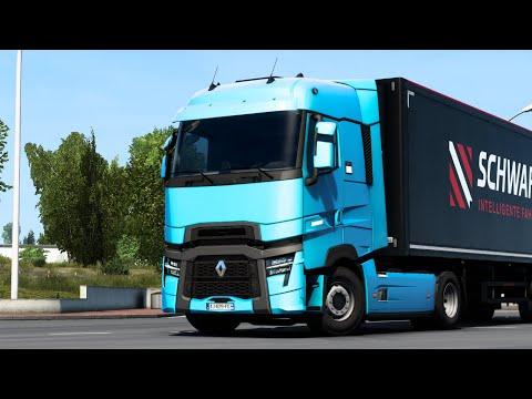 Renault Trucks T U0026 T High 2021 Evolution | Free DLC | Euro Truck Simulator 2