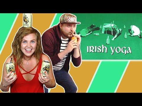 Irish People Try Beer Yoga