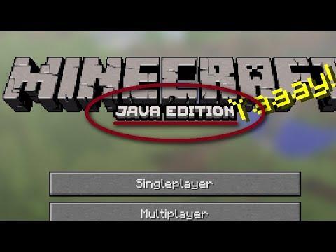 The NEW Minecraft Logo