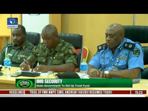 Imo Govt Sets Up Security Trust Fund