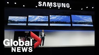 Samsung unveils new tech at CES after drop in 2018 smartphone shipments