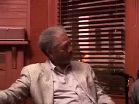 Morgan Freeman interview on race