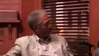 Morgan Freeman interview on race
