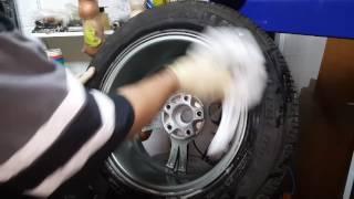 Бортировка и балансировка колеса в деталях.
