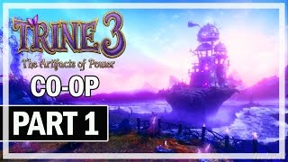 Trine 3: The Artifacts of Power Walkthrough Part 1 - Co-Op Let