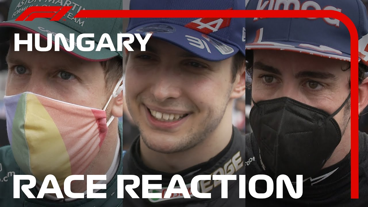 Drivers' Post-Race Reaction | 2021 Hungarian Grand Prix