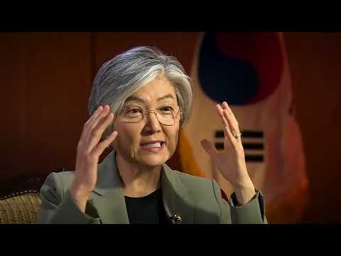 South Korean Foreign Minister Kang Kyung-wha interview.