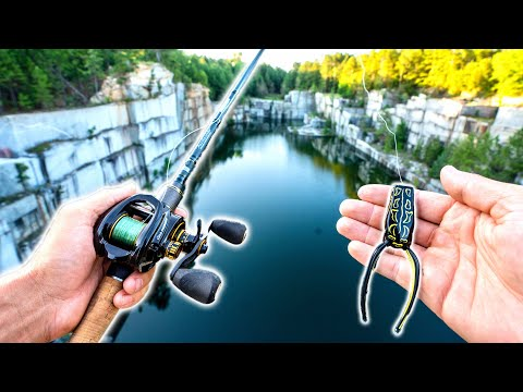 Fishing An ABANDONED QUARRY: ($25,000 Boat GIVEAWAY SIGNUP DETAILS!!)