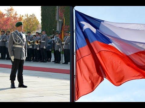 Militärische Ehren - Chiles Präsident - Ehrenbataillon