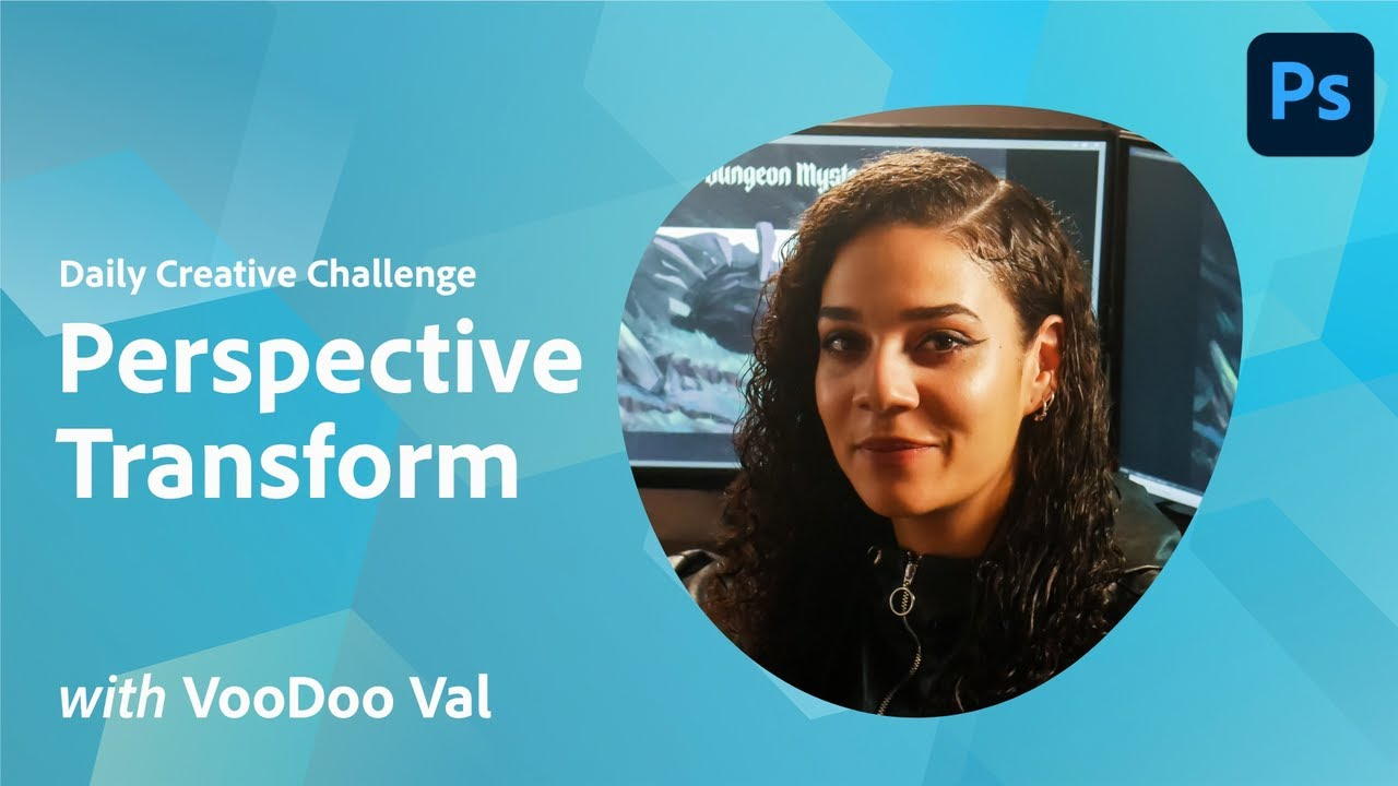 Creative Encore: Photoshop Daily Creative Challenge - Perspective Transform