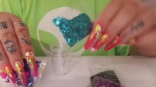 DIY Glitter Acrylic Powders - I'll show you how to create!