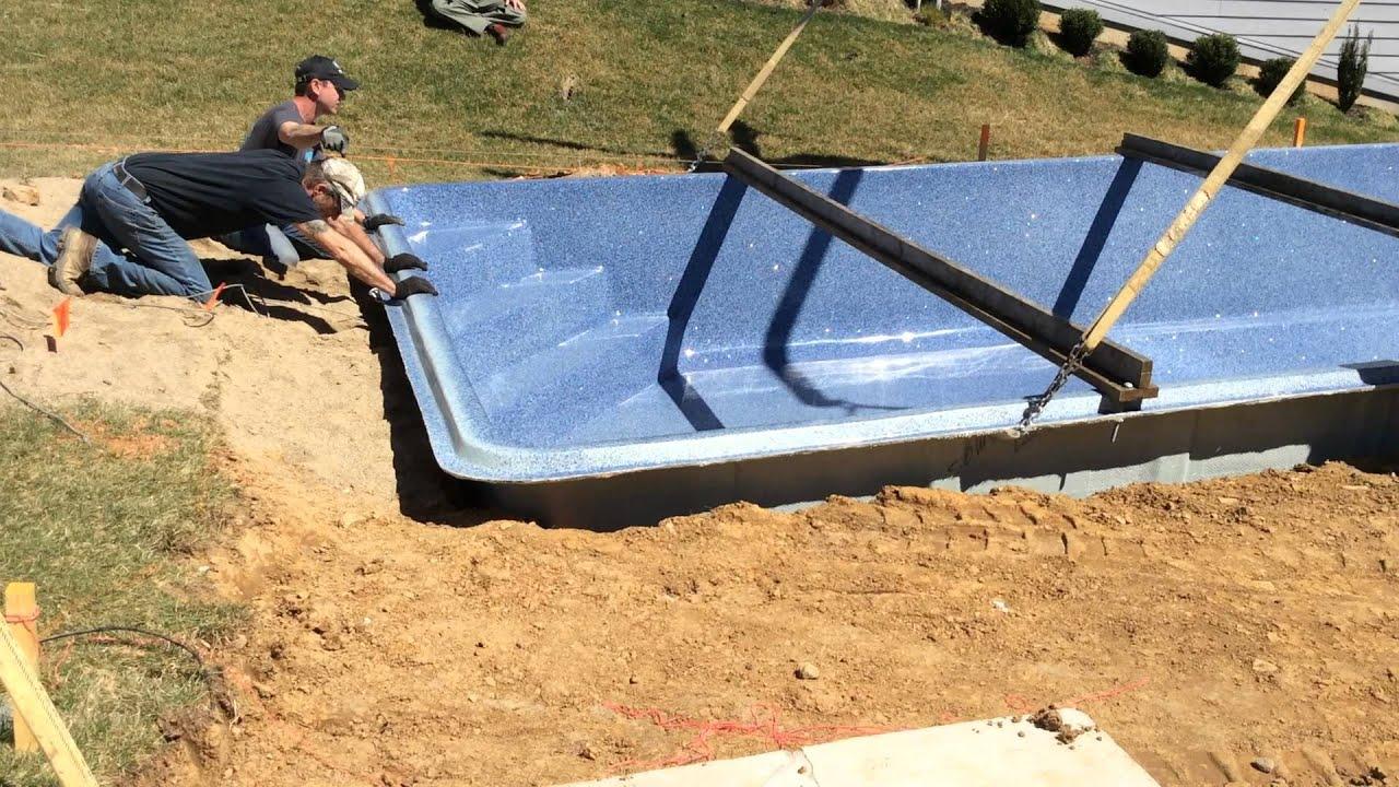 2017 Viking In Ground Fibergl Pool Set By Aqua Pro And Spa Of Bloomington