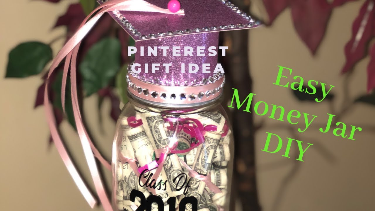 How To Create A Money Gift Jar Easy Gift Idea Youtube