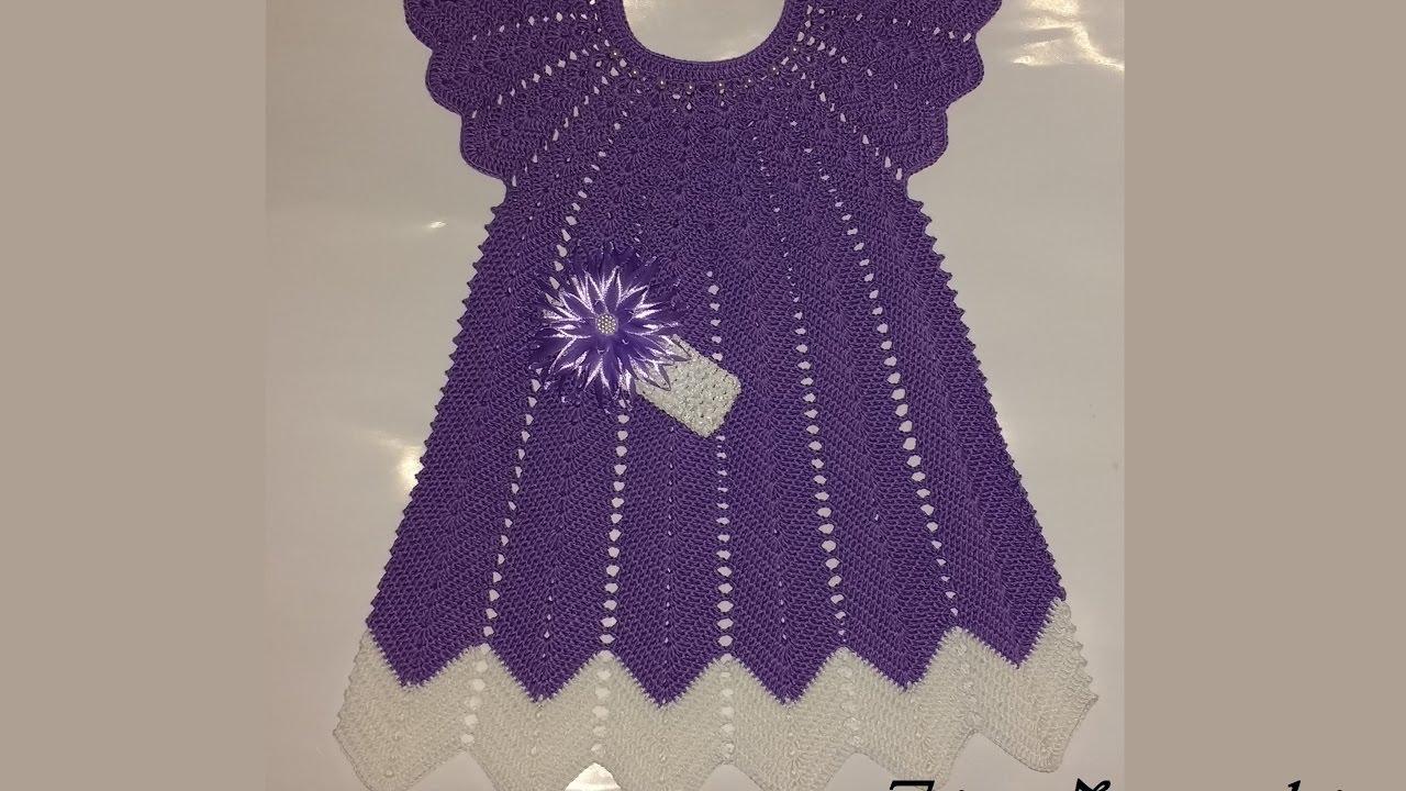 детское ажурное платье вязание крючкомплатье узором волнавяжем