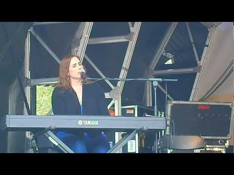 Rose Cousins (Canadian folk-pop singer-songwriter) performing at Canada Day 2012 London