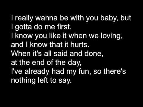 T. Mills, Me First- Lyrics