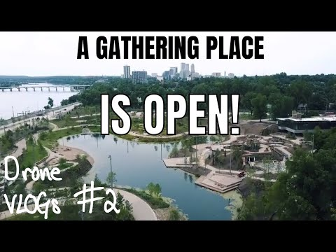 IT'S OPEN - A GATHERING PLACE in Tulsa, OK  Last Flyover l Drone VLOGs #2