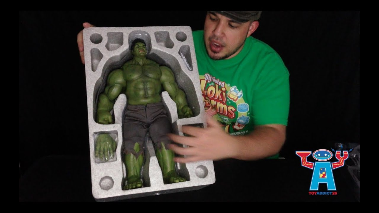 Review: Hot Toys Avengers Movie Hulk (Part 1 of 2) - YouTube