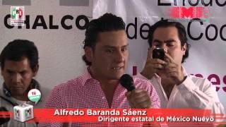 Nombran coordinadores de México Nuevo en Chalco