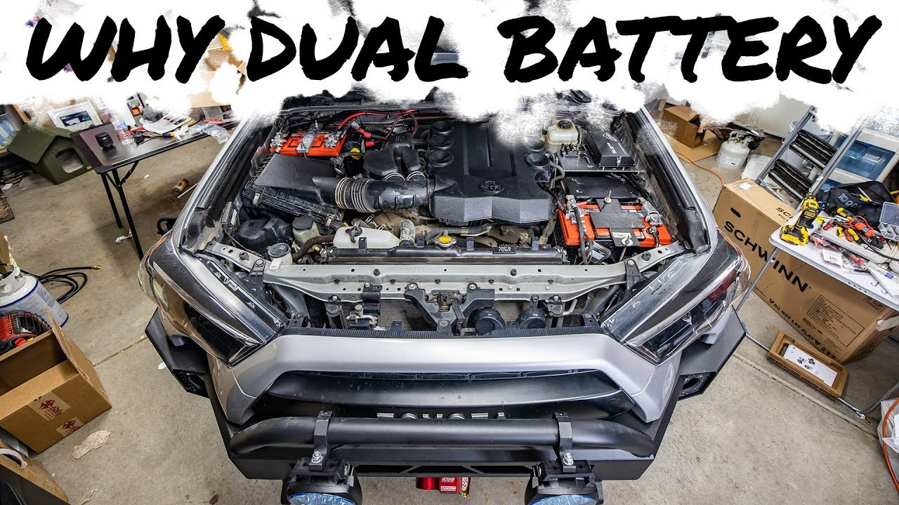 An idiot's guide to a dual battery setup on 4Runner - YouTubeYouTube