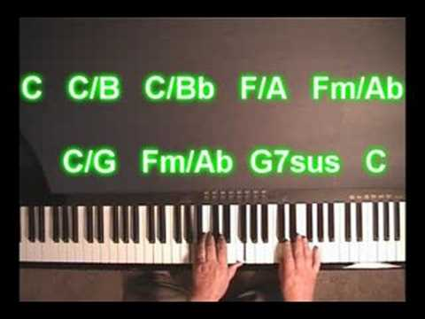 Piano Chord Symbols: Slash Chords - YouTube