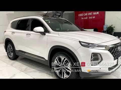 Bán xe ô tô cũ Hyundai Santafe 2.4 AT 4WD Premium sx 10/2020 chạy 13.000 Km